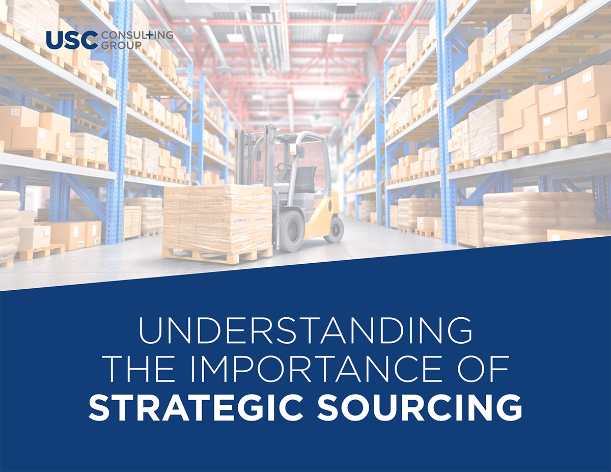 Strategic Sourcing eBook Cover