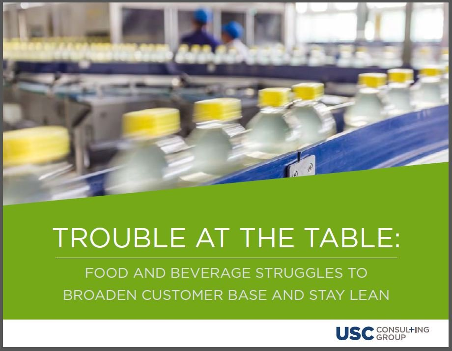 Trouble at the Table: Food and beverages struggle to broaden customer base and stay lean