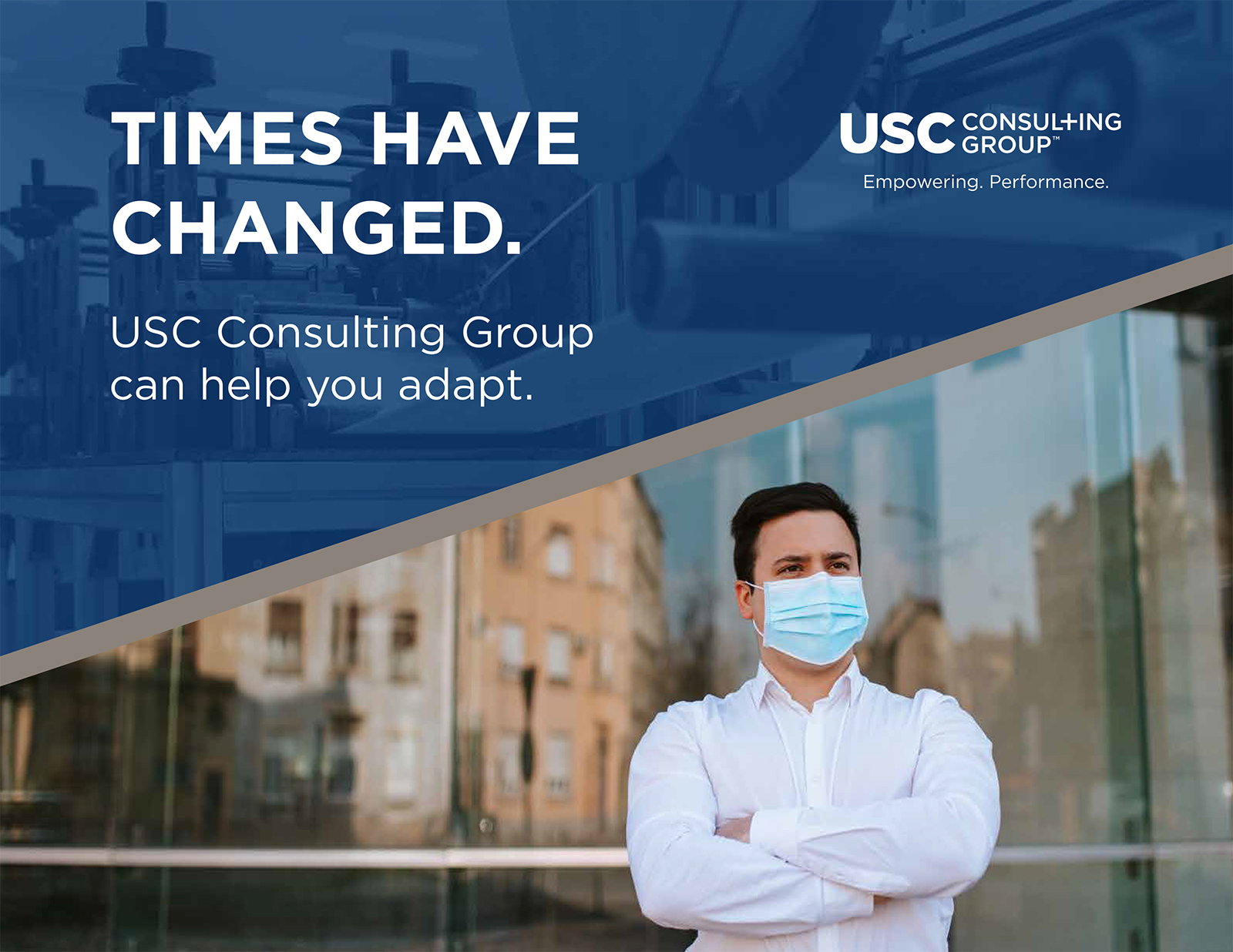 Times Have Changed - USC Consulting Can Help You Adapt eBook Cover